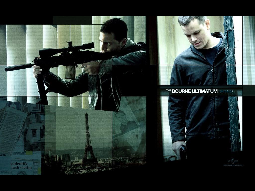 Movies Wallpaper: The Bourne Ultimatum