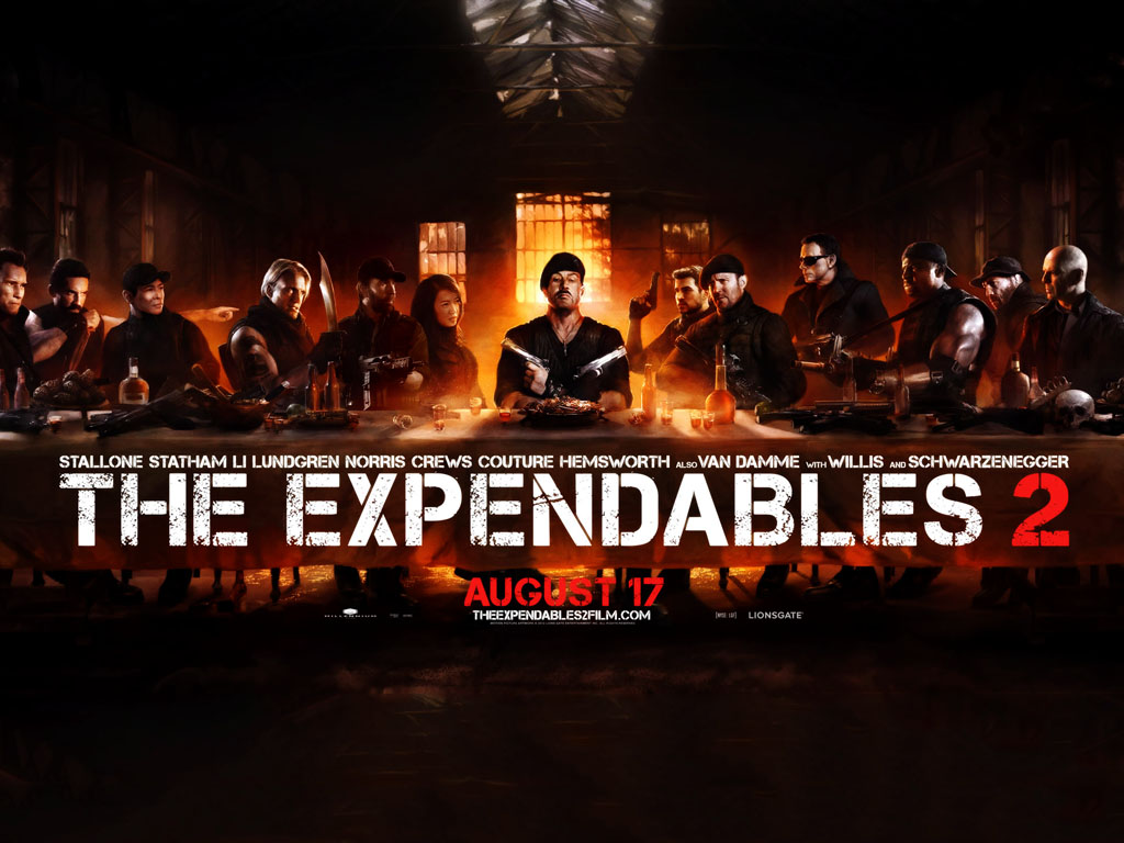 Movies Wallpaper: The Expendables 2