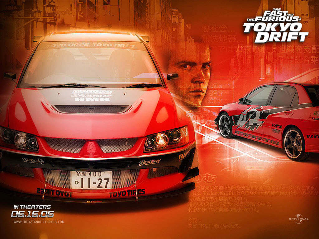 Movies Wallpaper: The Fast and The Furious - Tokyo Drift