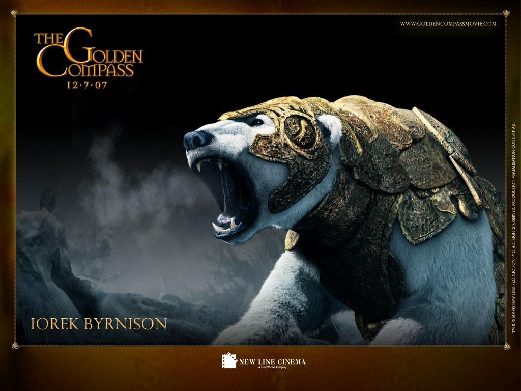 Movies Wallpaper: The Golden Compass - Iorek Byrnison
