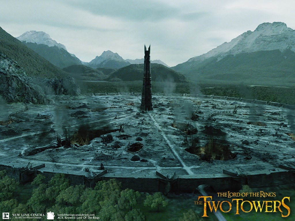 Movies Wallpaper: Lord of the Rings - Isengard