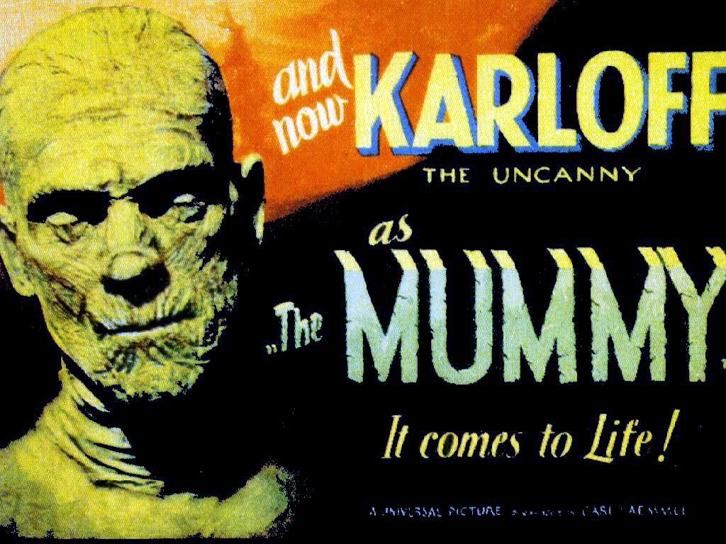 Movies Wallpaper: The Mummy - Boris Karloff