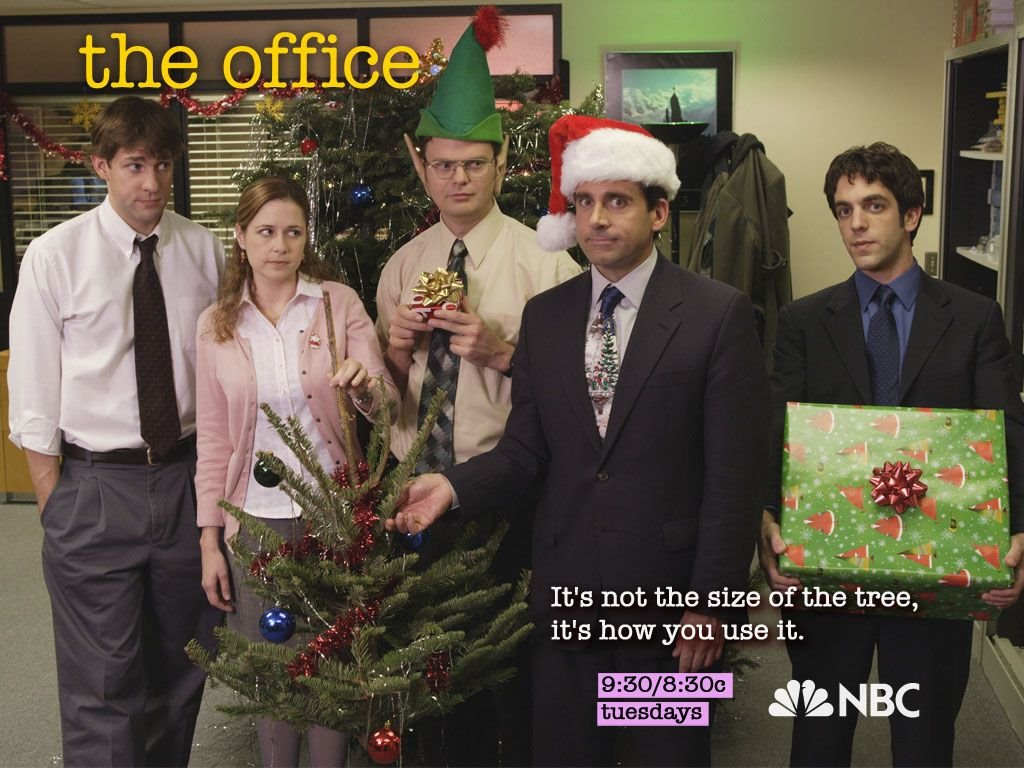 Movies Wallpaper: The Office - Christmas
