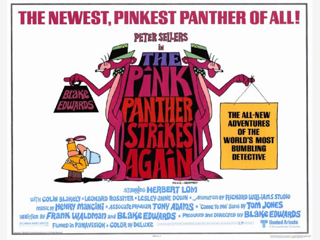 Movies Wallpaper: The Pink Panther Strikes Again