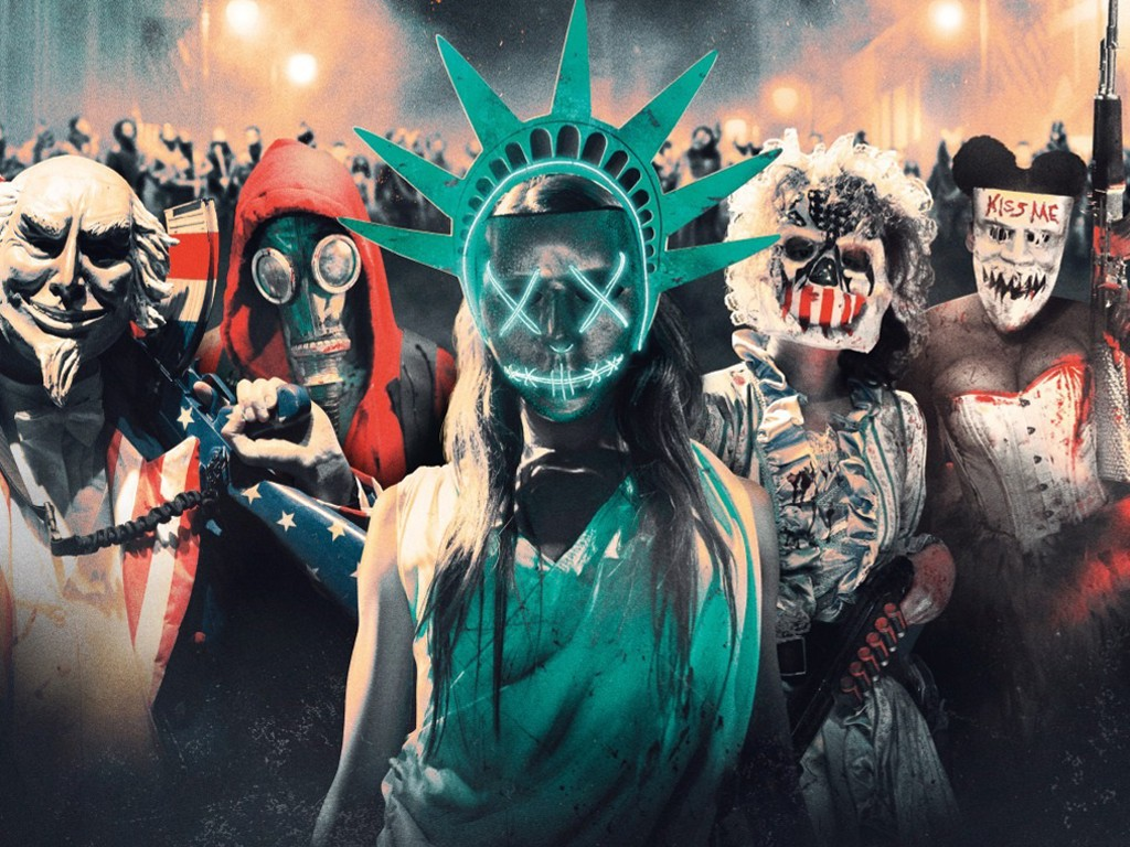Movies Wallpaper: The Purge - Election Year
