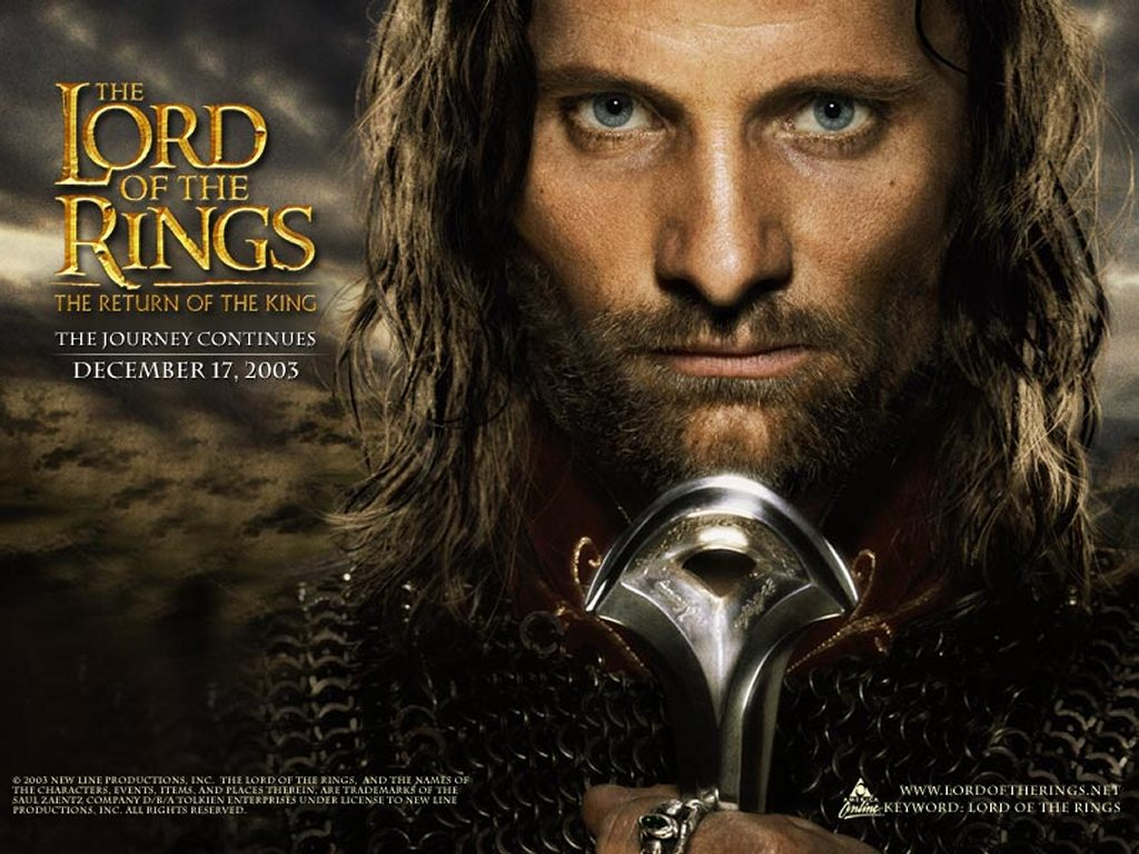 Movies Wallpaper: LOTR - The Return of the King - Aragorn