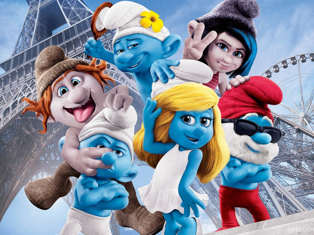 Movies Wallpaper: The Smurfs 2
