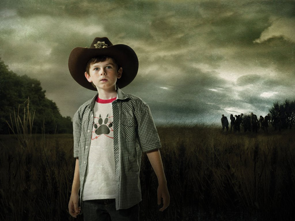 Movies Wallpaper: The Walking Dead - Carl Grimes