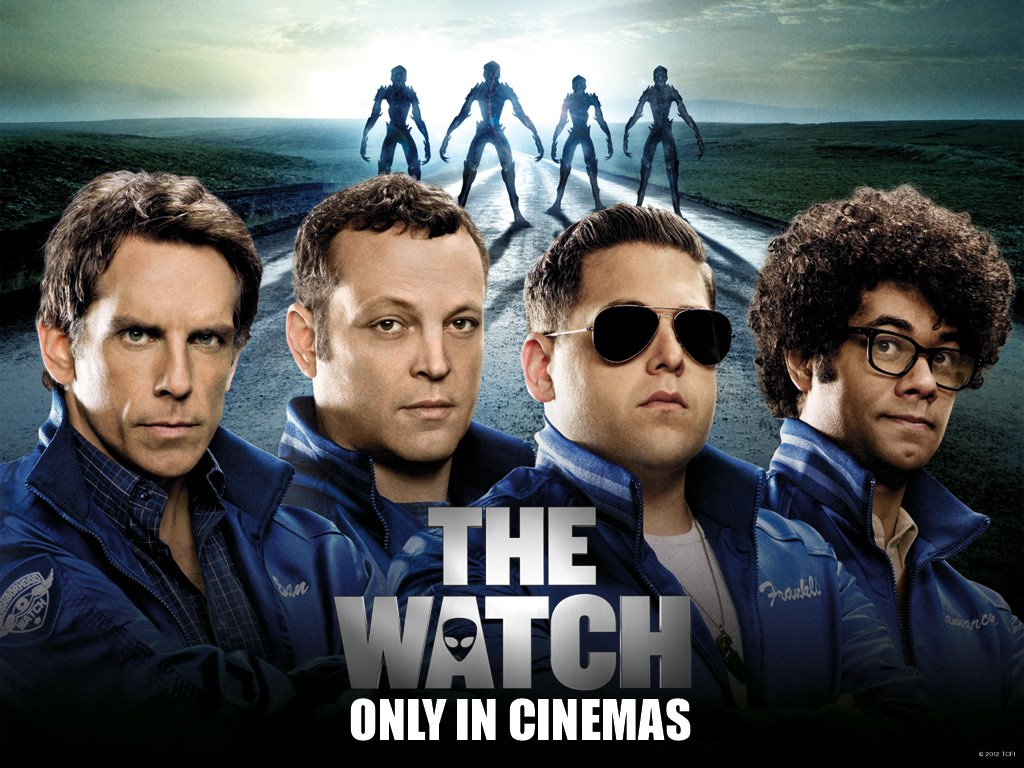 Movies Wallpaper: The Watch