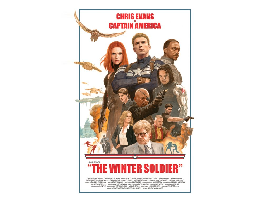 Movies Wallpaper: Captain America - The Winter Soldier