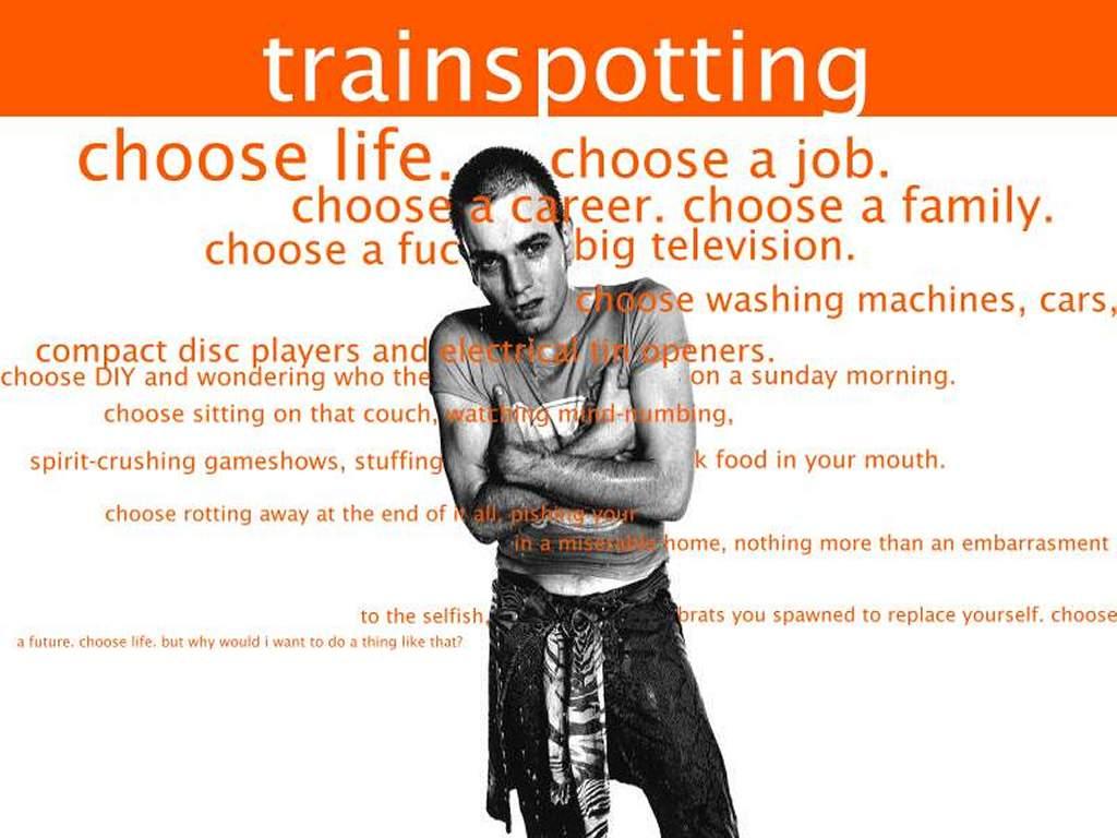 Movies Wallpaper: Trainspotting - Opening