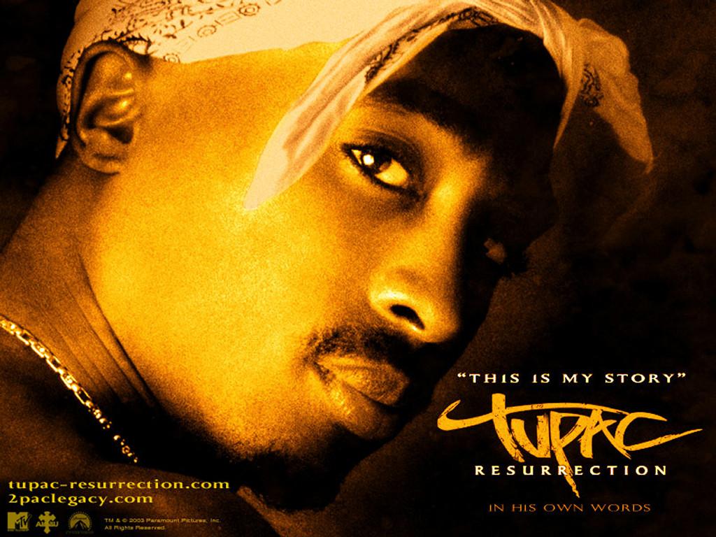 Movies Wallpaper: Tupac Resurrection