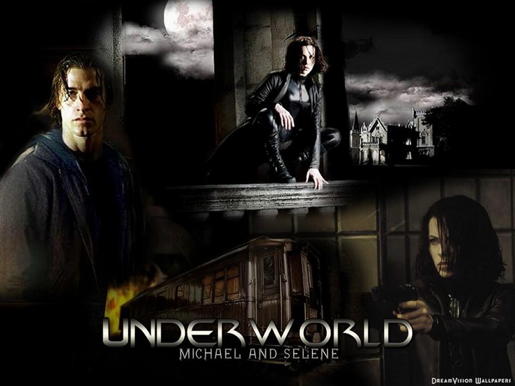 Movies Wallpaper: Underworld - Selene and Michael