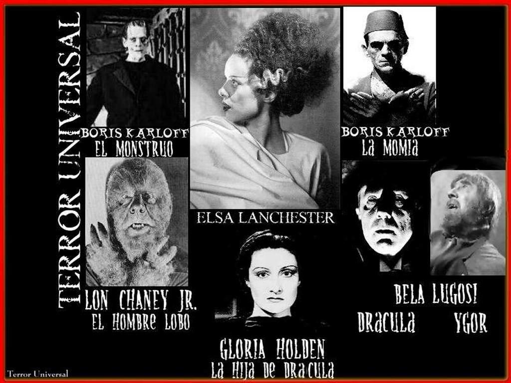 Movies Wallpaper: Monstros da Universal