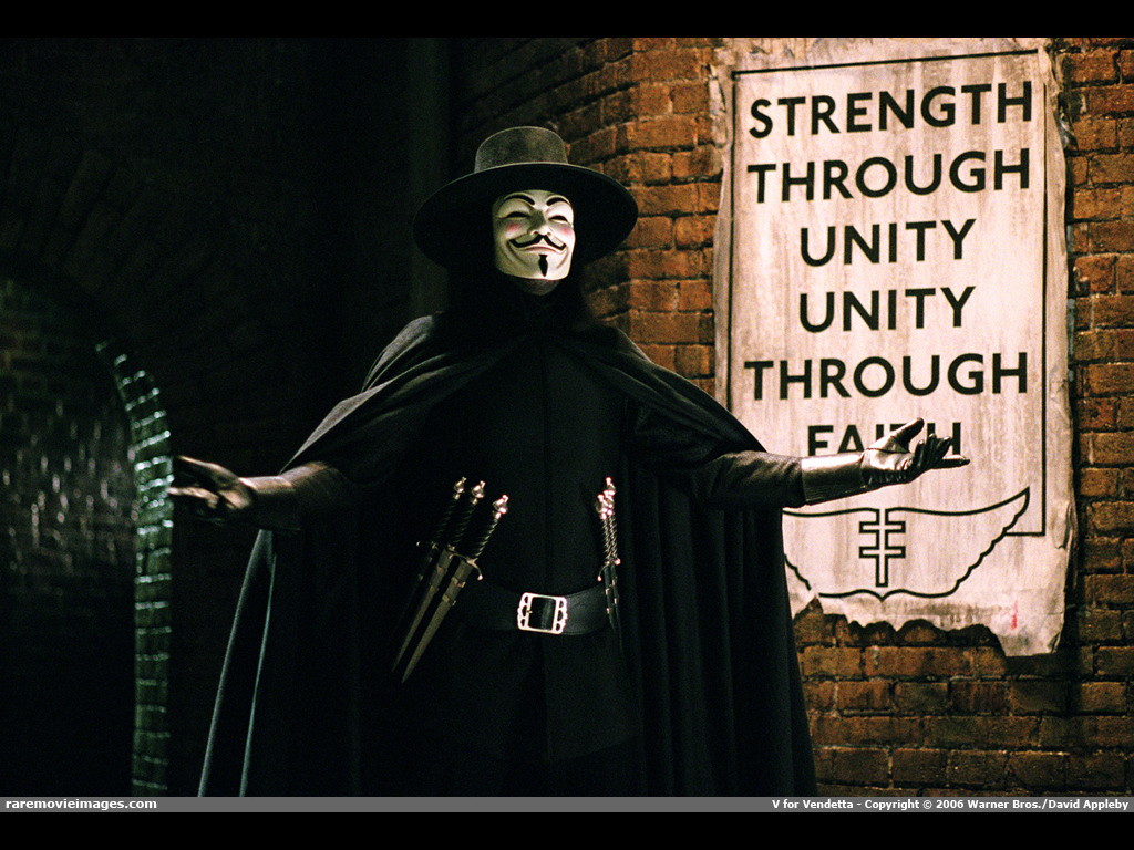Movies Wallpaper: V for Vendetta