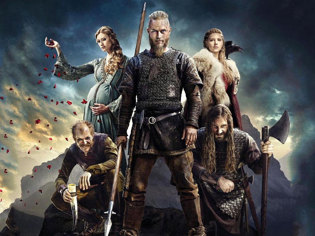 Movies Wallpaper: Vikings