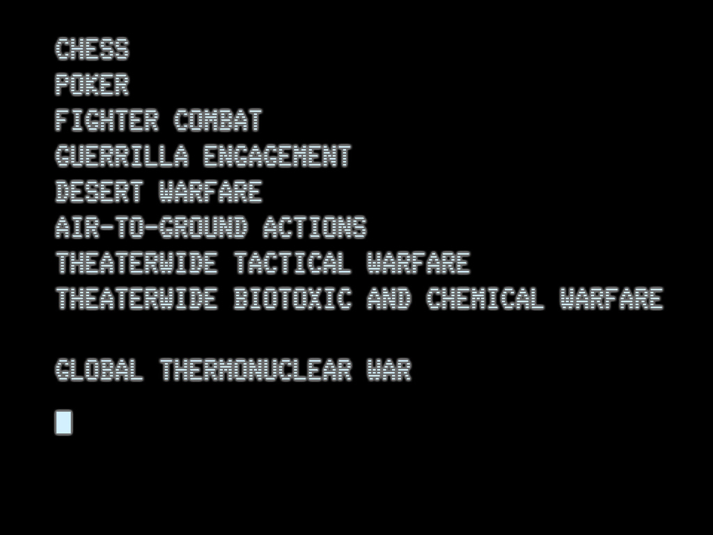 Movies Wallpaper: Wargames