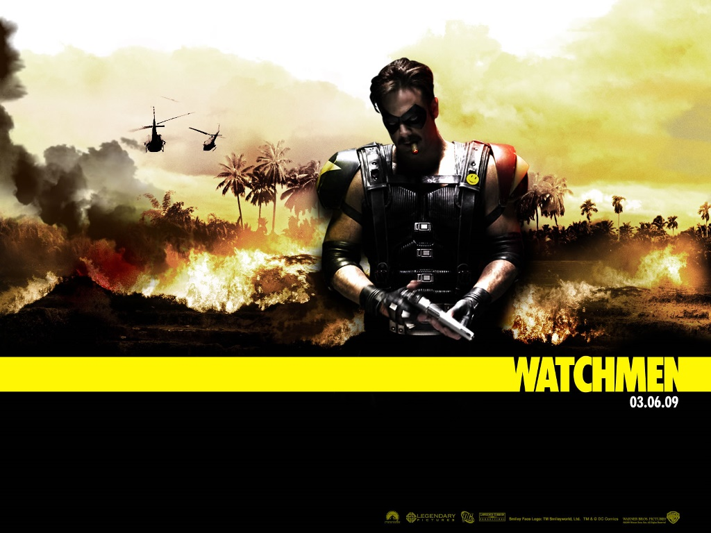 Movies Wallpaper: Watchmen - Comedian