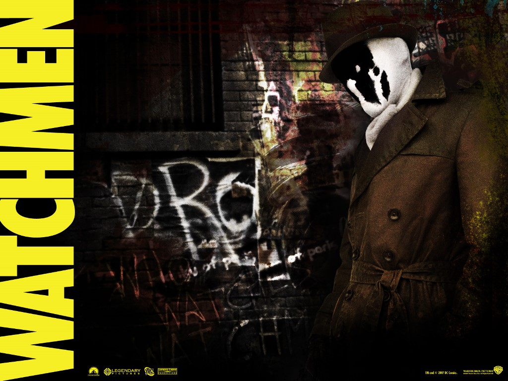 Movies Wallpaper: Watchmen - Rorschach