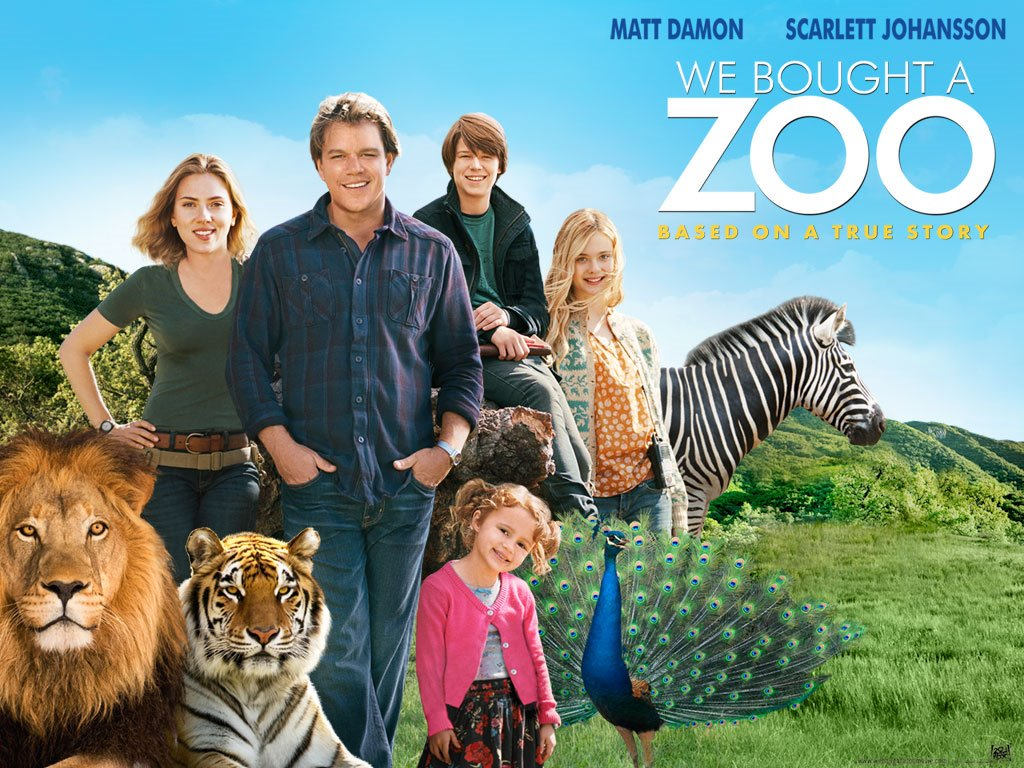 Movies Wallpaper: We Bought a Zoo