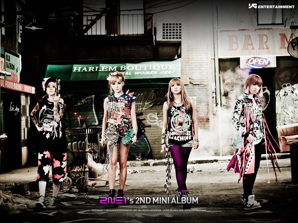 Music Wallpaper: 2NE1