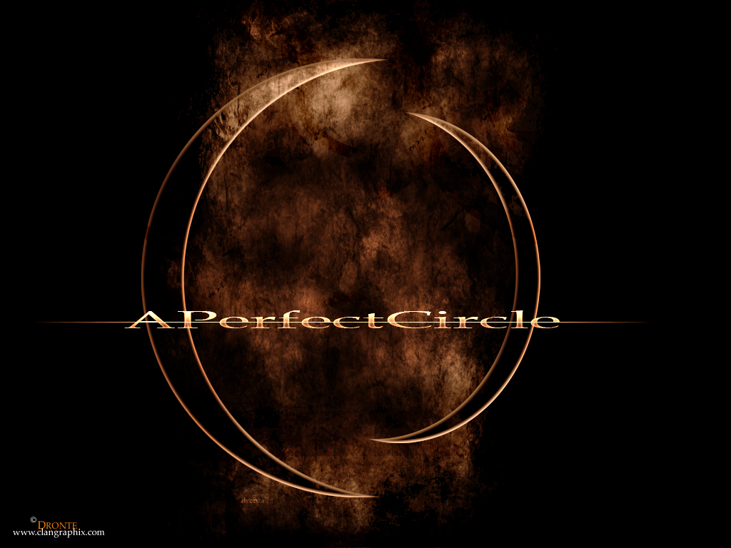 Music Wallpaper: A Perfect Circle (by Dronte)