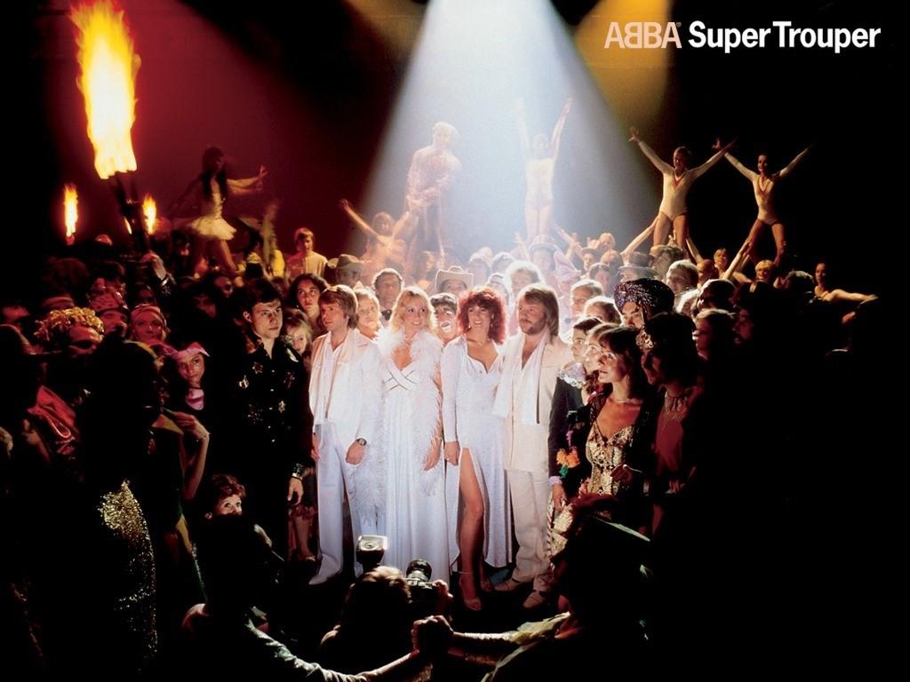 Music Wallpaper: ABBA - Super Trouper