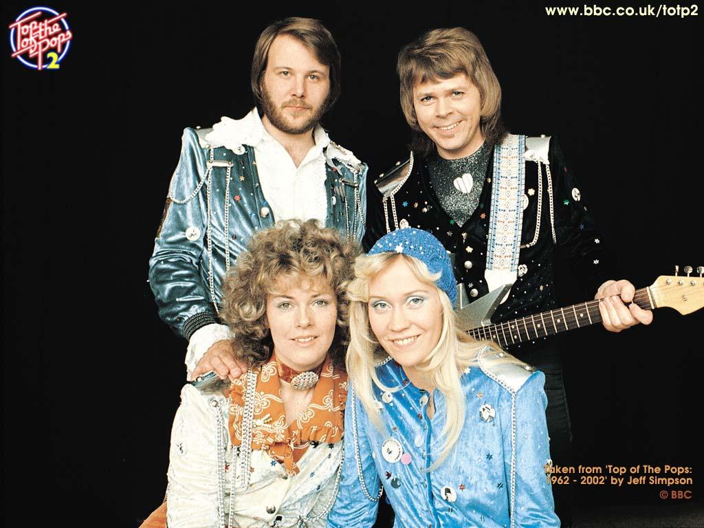 Music Wallpaper: ABBA - Waterloo