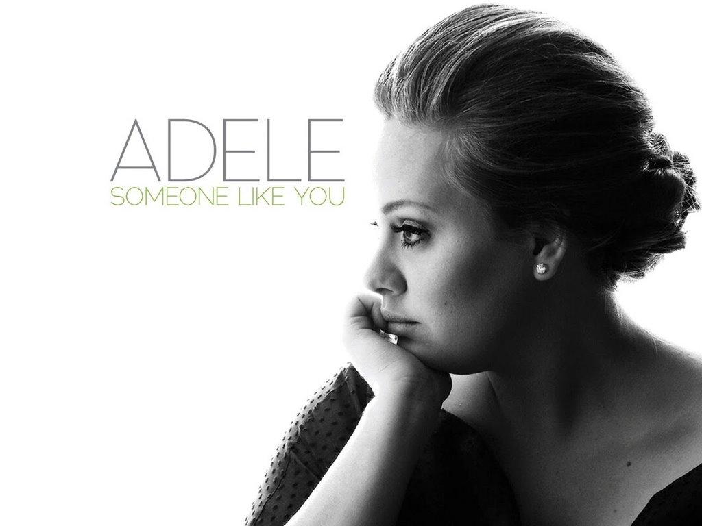 Music Wallpaper: Adele - Someone Like You