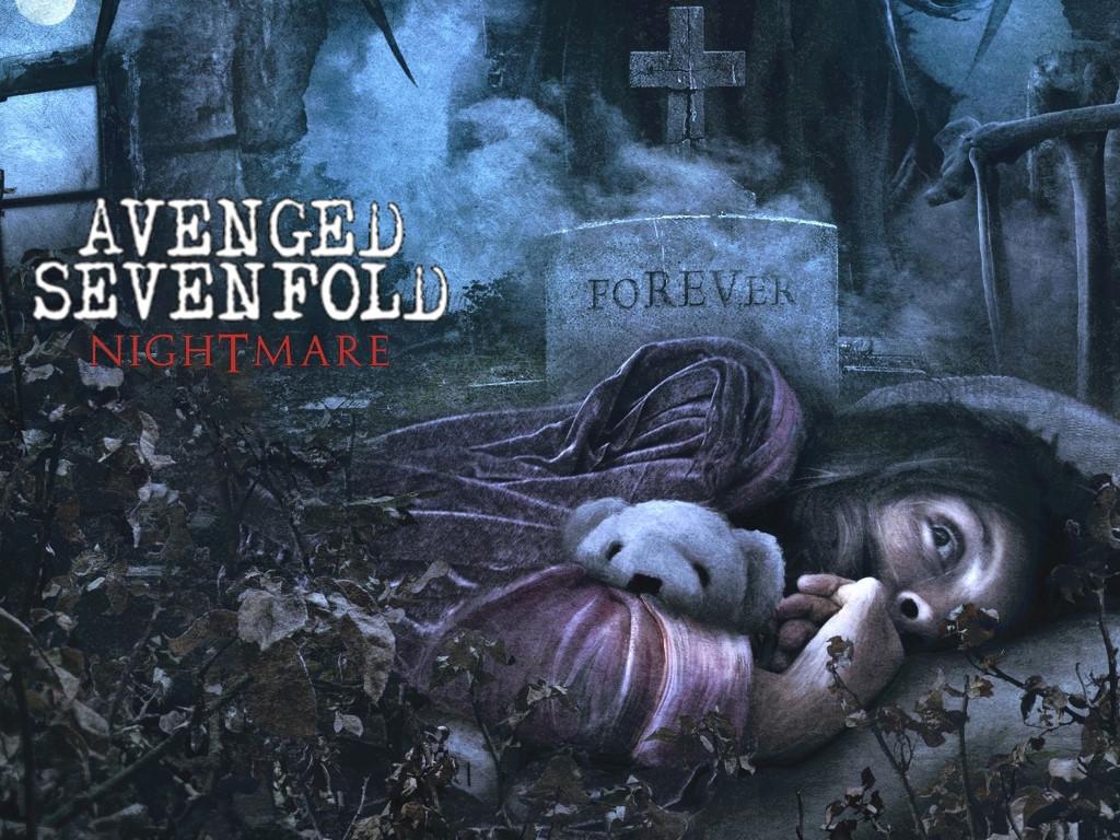 Music Wallpaper: Avenged Sevenfold - Nightmare