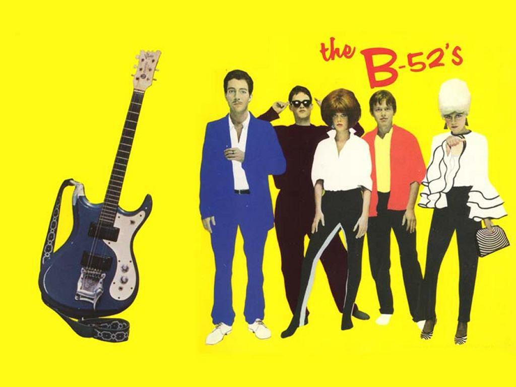 Music Wallpaper: B-52's