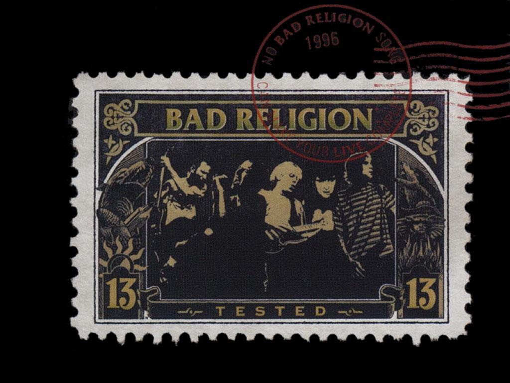Music Wallpaper: Bad Religion - Tested