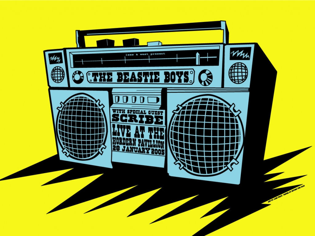 Music Wallpaper: Beastie Boys - Live 2005