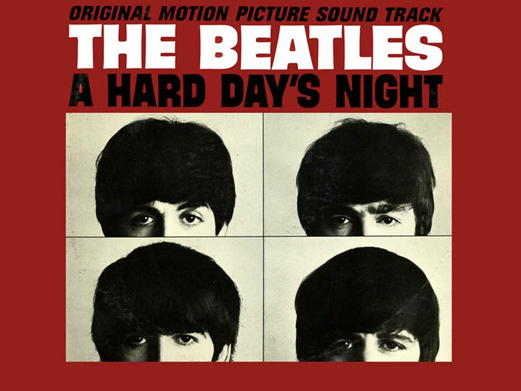 Music Wallpaper: Beatles - A Hard Day's Night