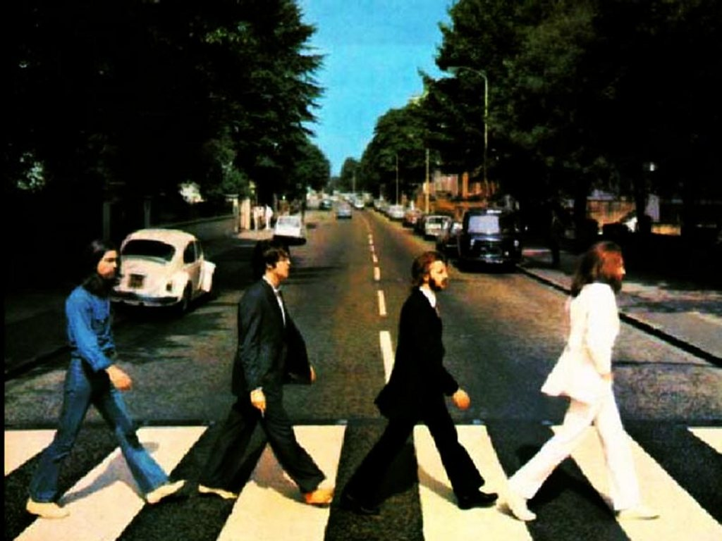 Music Wallpaper: Beatles - Abbey Road