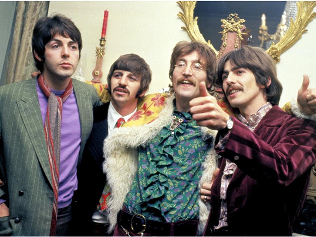 Music Wallpaper: Beatles - Hippies