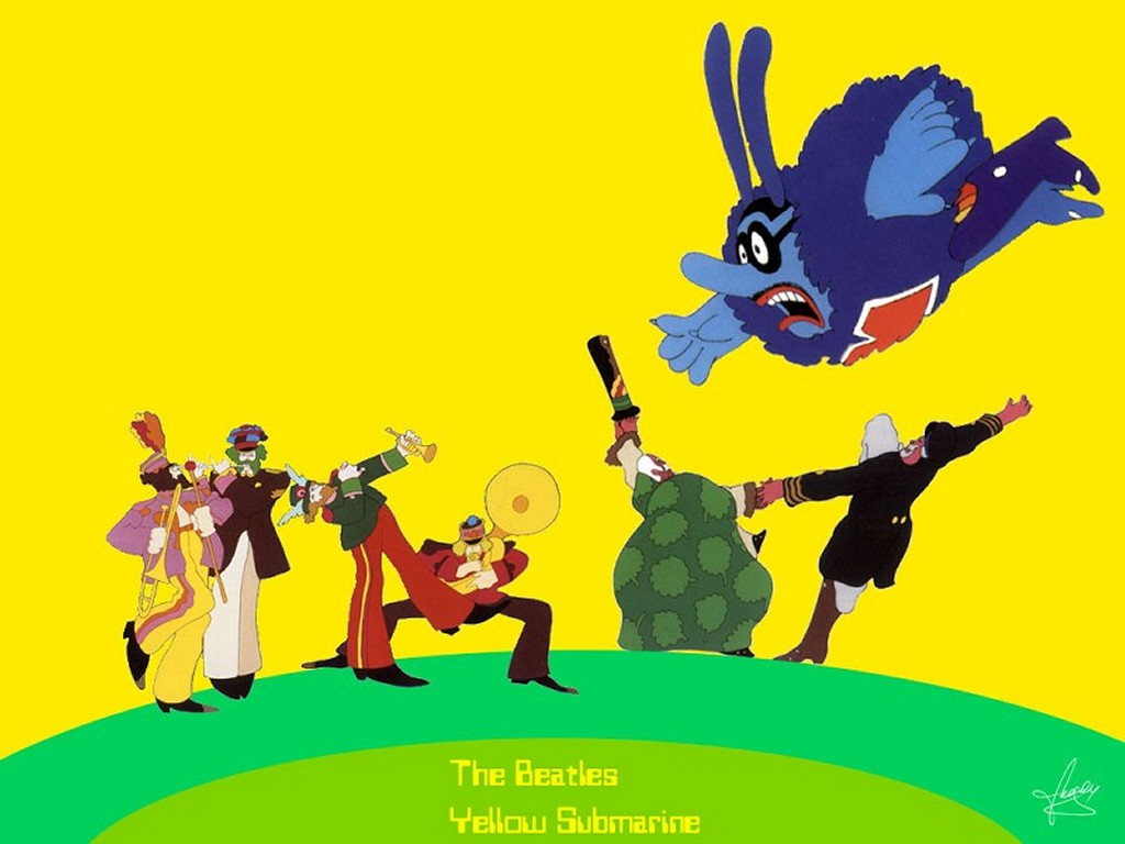 Music Wallpaper: Beatles - Yellow Submarine