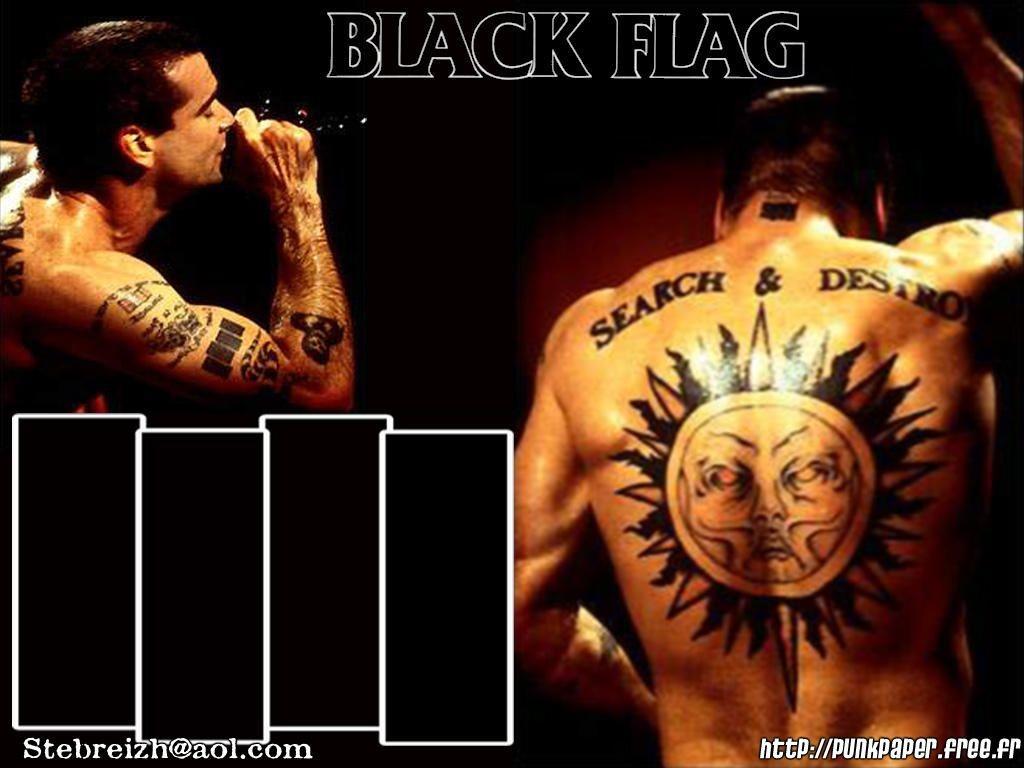 Music Wallpaper: Black Flag
