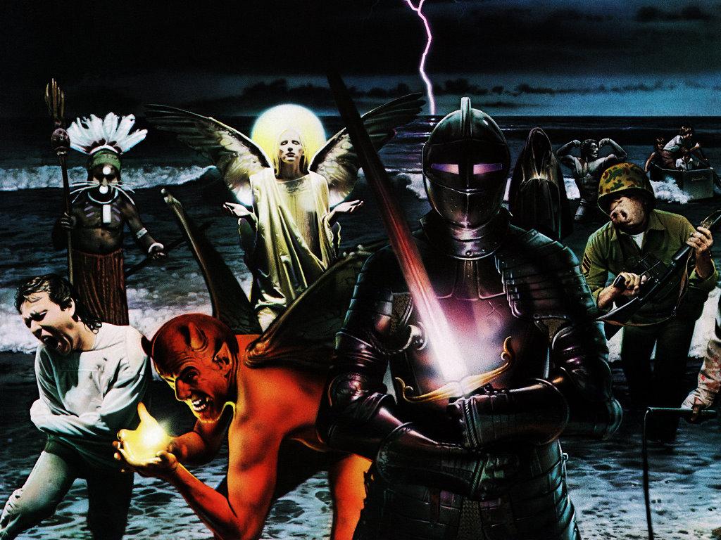Music Wallpaper: Black Sabbath - Live Evil