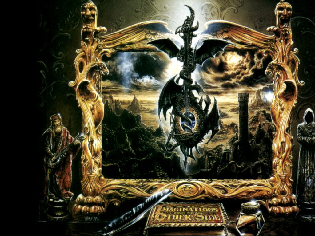 Music Wallpaper: Blind Guardian - Imaginations from the Other Side