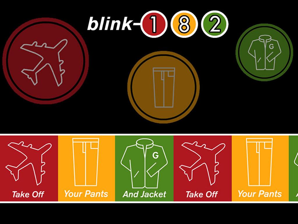Music Wallpaper: Blink 182