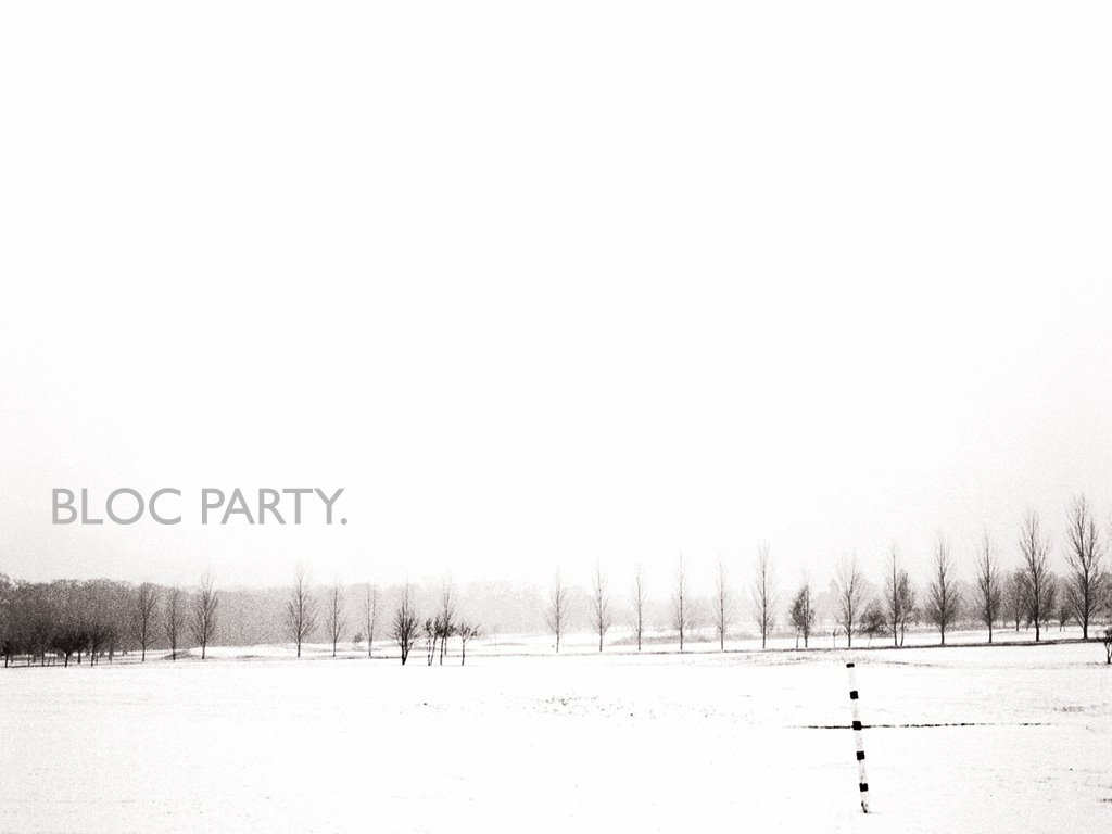 Music Wallpaper: Bloc Party - Silent Alarm