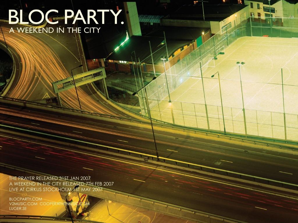 Music Wallpaper: Bloc Party