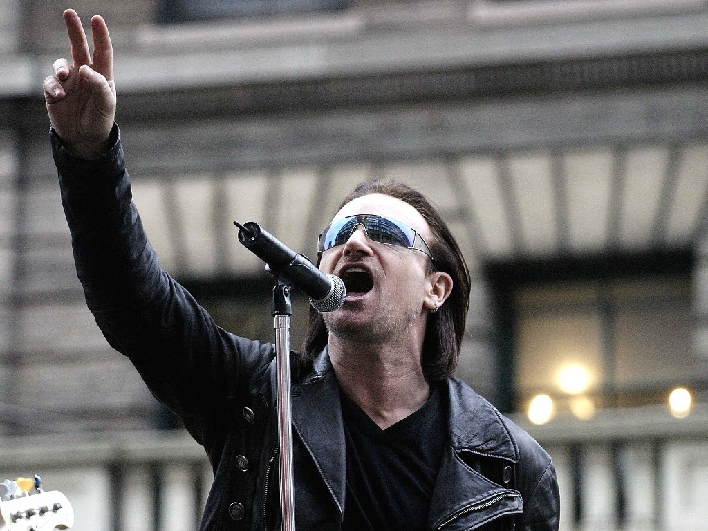 Music Wallpaper: Bono Vox