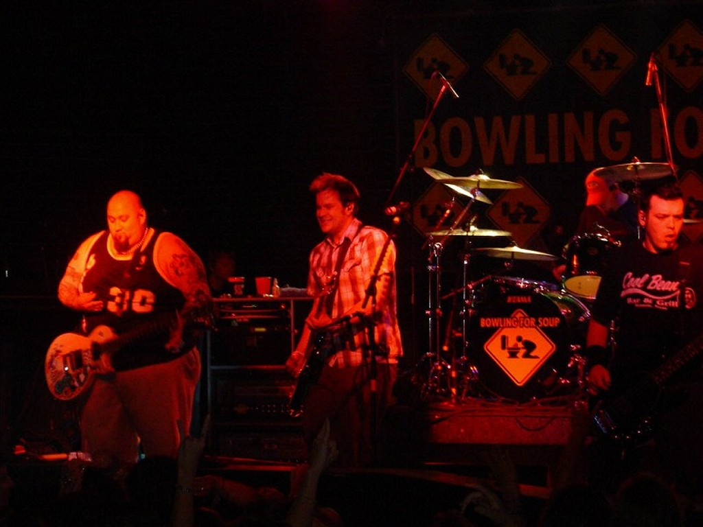 Music Wallpaper: Bowling for Soup - Live