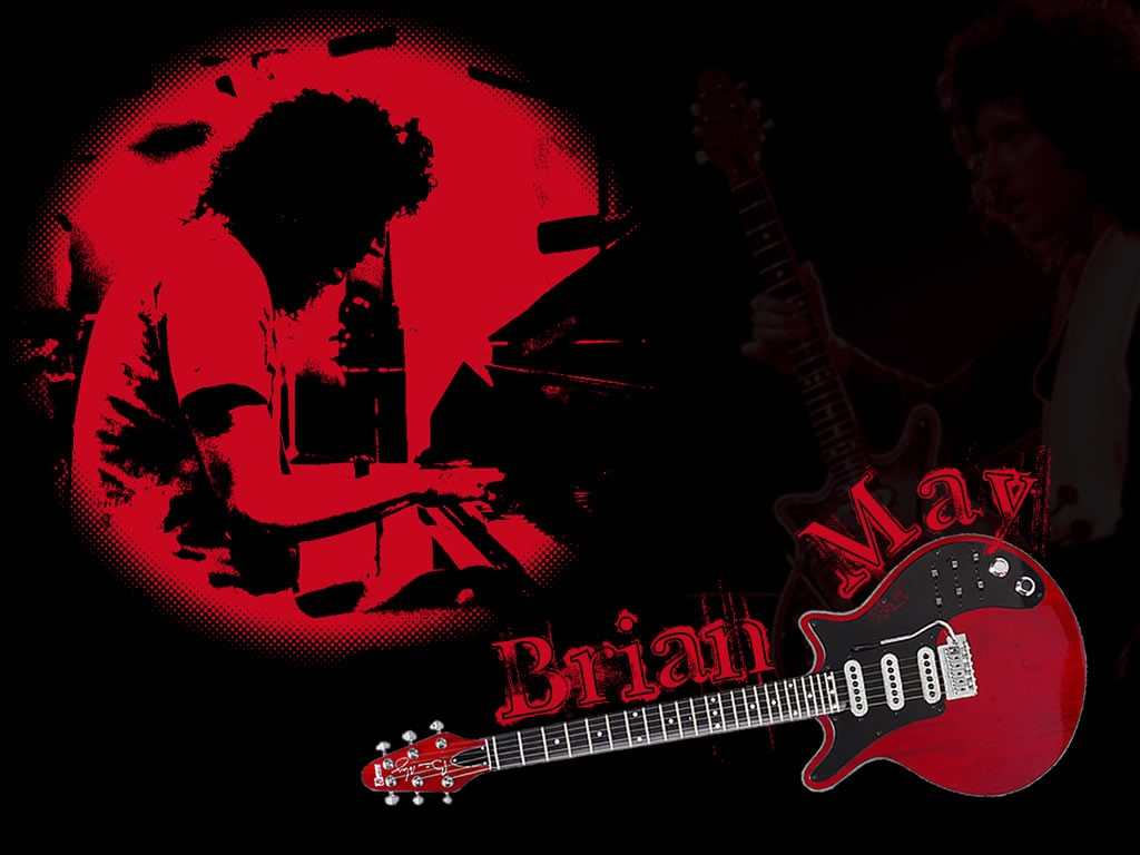 Music Wallpaper: Brian May