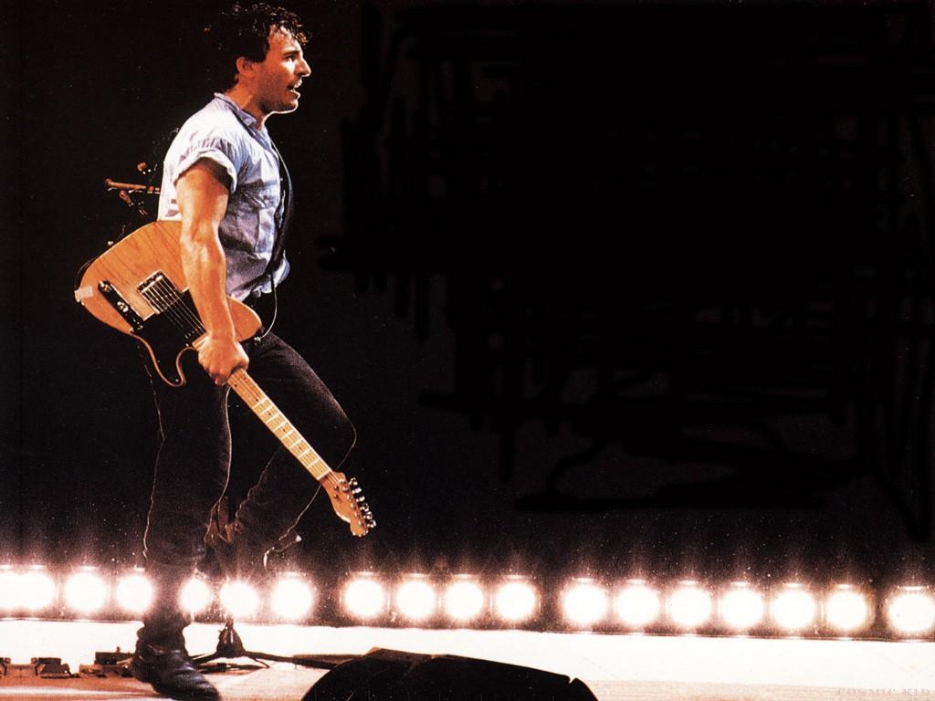 Music Wallpaper: Bruce Springsteen