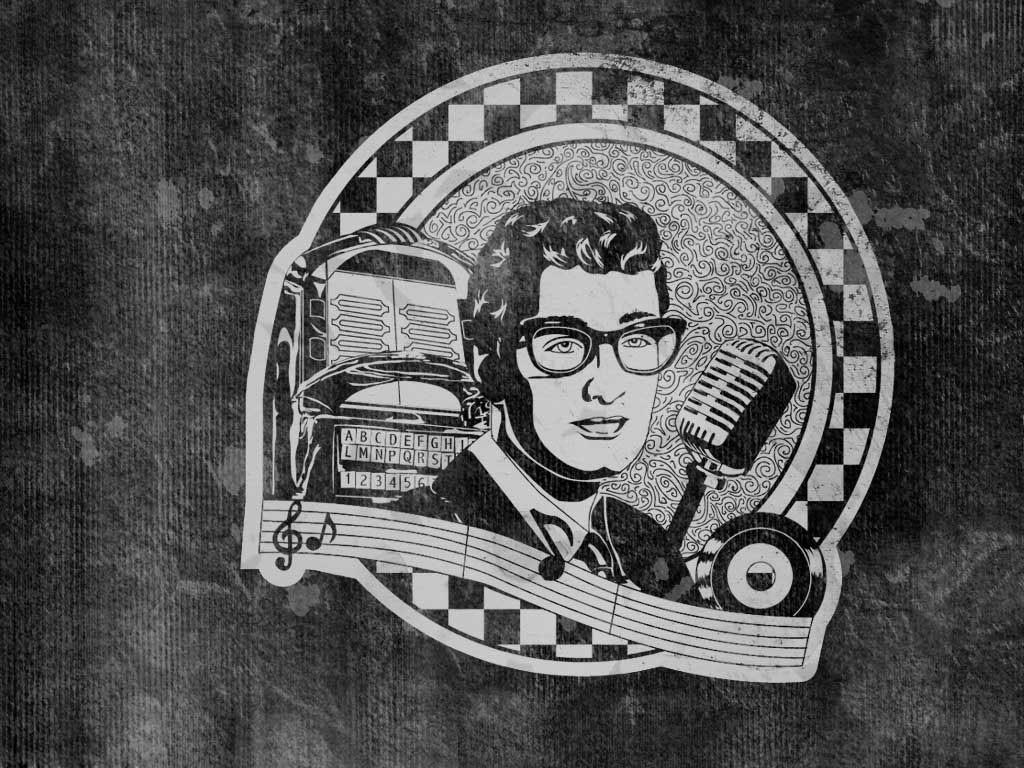 Music Wallpaper: Buddy Holly