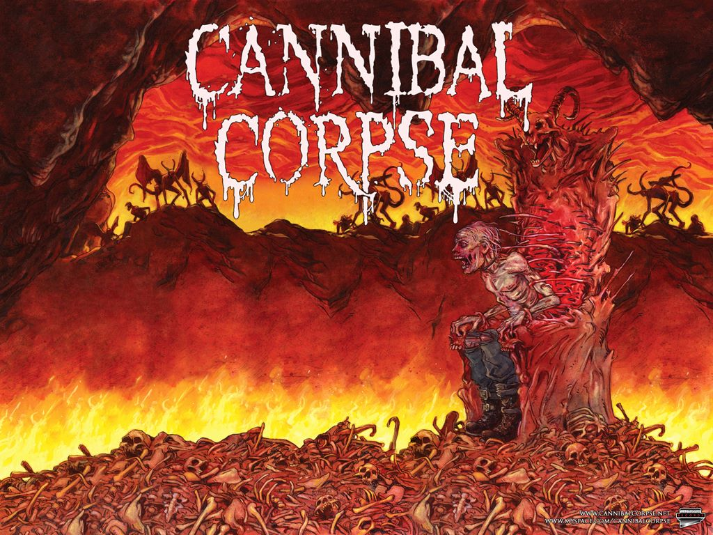 Music Wallpaper: Cannibal Corpse
