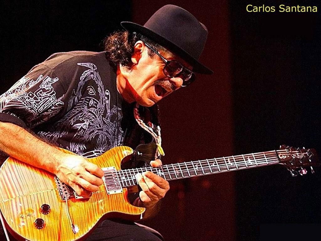 Music Wallpaper: Carlos Santana